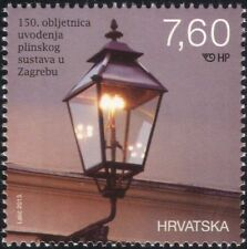 Croatia 2013 Gas Street Lamp/Light/Energy/Power/Industry/Commerce 1v (n44797)