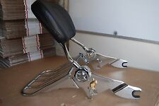 Detachable Backrest Sissy Bar with Lock for Harley Davidson Touring 09UP