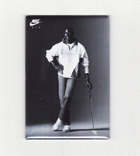 MICHAEL JORDAN / GOLF - FRIDGE MAGNET (costacos poster chicago nike air dunk)