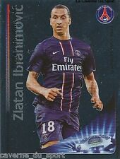 N°065 IBRAHIMOVIC # SWEDEN PSG PARIS SG CHAMPIONS LEAGUE 2013 STICKER PANINI