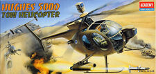 Academy 12250 HUGHES 500MD TOW 1/48 Helicopter Plastic Model Kit Hobby Kits Toy