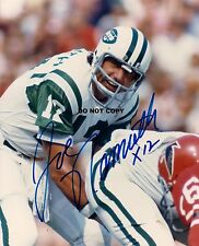JOE NAMATH 8X10 AUTHENTIC IN PERSON SIGNED AUTOGRAPH REPRINT PHOTO RP