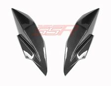 Kawasaki Ninja Z250 Z300 Headlight Side Trim Panel Cover Fairings Carbon Fiber