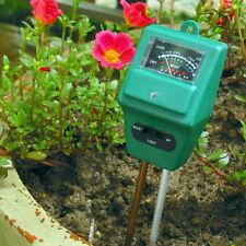 3 in 1 pH Value Detector Soil Moisture Light Tester Meter for Gardening Planting