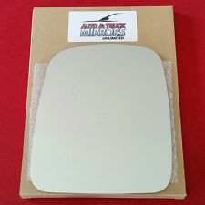 NEW Mirror Glass 03-08 CHEVY EXPRESS VAN Driver Side MANUAL **FAST SHIPPING**