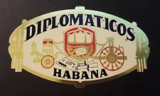 Diplomaticos Habana cigar sticker.