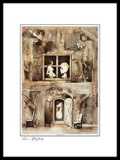 Armin Birkel Tanz Poster Bild Kunstdruck mit Alu Rahmen in schwarz 40x30cm