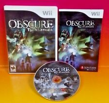 Obscure: The Aftermath - Nintendo Wii and Wii U Game COMPLETE Rare Horror