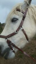BIOTHANE  FULL Micklem style BROWN bridle with reins FREE POST