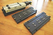 Adjustable Mounting Plates for Parker 404100XRMP Linear Actuator -THK CNC Router