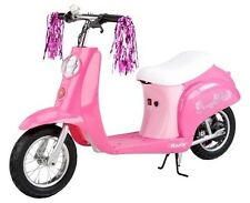 Girls Electric Scooter Pink Razor Motorized Battery powered Bike Ride-on New