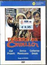 FEBBRE DA CAVALLO Gigi Proietti Enrico Montesano DVD NEW SIGILLATO