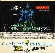 WPS 122 BAUER-THEUSSL/RYSANEK kalman countess mariza/czardas princess LP PS