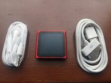 Apple iPod nano 6th Generation Red (16 GB) Special Edition Excellent Condition