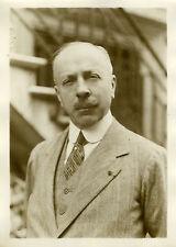 """""""Mr Fortuné d'Andigné Conseiller Municipal 1931"""" Photo originale G.DEVRED / ROL"""