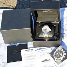 CRONO FORTIS FLIEGER AVIATORE AUTOMATIC limited edition 110/500 sub 100 mt.