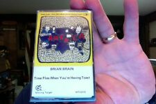 Brian Brain- Time Flies When You're Having Toast- new/sealed cassette tape
