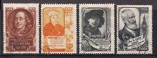 Russia Stamps- Scott # 1879-1883/A1000 & A1000b-Canc/LH-1956
