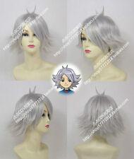 Inazuma Eleven Hubuki Shirou Silver Cosplay Wig