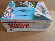 ALBI DELL'INTREPIDO - Serie Completa 11 numeri da Edicola 1990  MAX FAX  [G474]