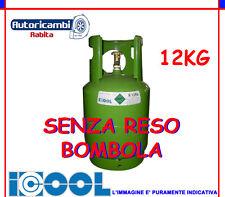 BOMBOLA GAS R134A 12 KG ARIA CONDIZIONATA CLIMA ICOOL SENZA RESO VECCHIA BOMBOLA