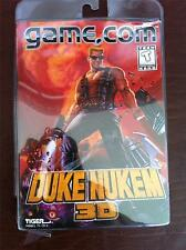 NEW -  Tiger Electronics Game.com  Video Game -  DUKE NUKEM 3D - Factory Sealed