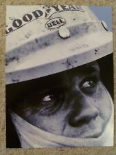 Famous Porsche Driver Mark Donohue Advertising Poster RARE!! Awesome L@@K