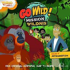 GO WILD!-MISSION .. - (9)ORIGINAL HÖRSPIEL Z.TV-SERIE-DIE AFFENMEDIZIN  CD NEU