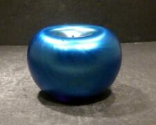 """Vintage Studio Orient And Flume Blue Paper Weight And Pen Holder - 2 1/4"""""""