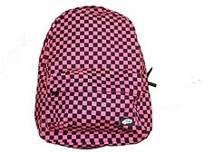 Vans Checkered RTL, Black/Pink Backpack, NWT