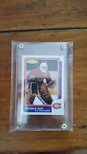 86/87 1986-87 Patrick Roy OPC Rookie #53 PERFECT RC REPRINT MINT IN SREW DOWN