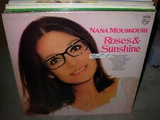 NANA MOUSKOURI roses & sunshine ( world music ) - SEALED - uk -