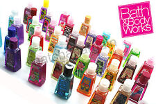 5 x ASSORTED BATH & BODY WORKS ANTI-BACTERIAL HAND SANITIZER POCKETBAC GEL 29ml