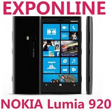 NOKIA LUMIA 920 WINDOWS 8 32GB 8MP UNLOCKED SMARTPHONE MOBILE BLACK