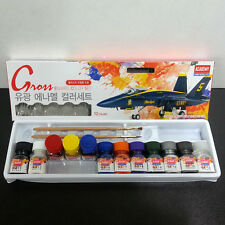 Academy Gloss Enamel Paint 12 Colors Set for Plastic Model Kit 15905 2014