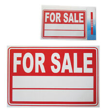 Car FOR SALE  Sign Vehicle Price/ Year/ Model Plastic Display A4 Size White-Red