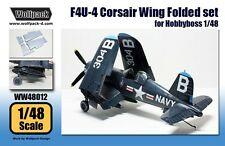 Wolfpack 1:48 F4U-4 Corsair Wing Folded Set for Hasegawa - Resin Detail #WW48012