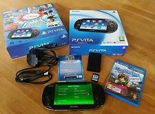 PlayStation Vita (Wi-Fi + 3G) + 6 Disney games + v3.60 FW + HEnkaku + ModNation