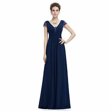 Ever pretty Women's Elegant Short Sleeve Long Evening Dress