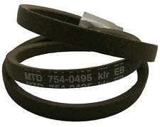 LAWNFLITE MTD 404 RIDEON LAWNMOWER DECK BELT 754-0495 **GENUINE BELT**