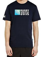 Men's Official Rugby World Cup 2015 Logo T-Shirt by Canterbury - Navy S BNWT