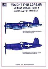 LPS Decals 1/72 VOUGHT F4U CORSAIR U.S. Navy Fighter Part 4