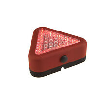 12 Pack Emergency LED Triangle Worklight Road Flare Strobe Red Flashlight