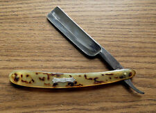 OLD TOWER STRAIGHT RAZOR - JOHN S. HOLLER & CO - THE TOWER BRAND