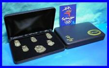046# * LIMITED EDITION SYDNEY 2000 OLYMPIC GAMES * Pewter Boxed Pin Set