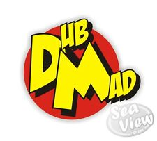 Dub Mad Car Van Sticker Decal Funny Stickers Danger Mouse JDM Euro VW