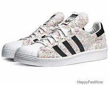 ADIDAS ORIGINALS SUPERSTAR 80's PRIMEKNIT MEN'S SHOES SIZE 13 MULTI COLOR S75845