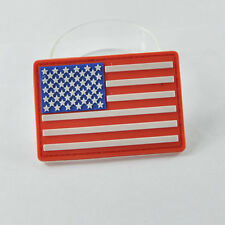 Military USA American Flag 3D PVC Rubber Velcro Patch US Moral Tactical Badge