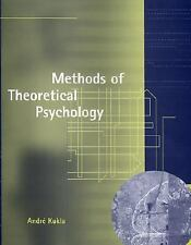 Methods of Theoretical Psychology (Bradford Books), Andre Kukla, New Book
