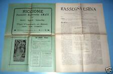 Settimanale RASSEGNA ESTIVA  anno I  n° 2  Bologna 1903